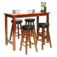Delta Bar Table & Stools
