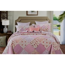 Sarah Rose Quilted Coverlet Set
