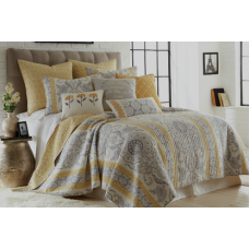 Saint Clair Quilted Coverlet Set