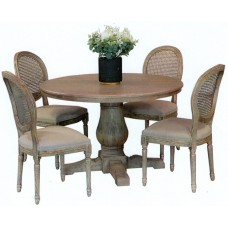 Bristol Table with French Vintage Chairs