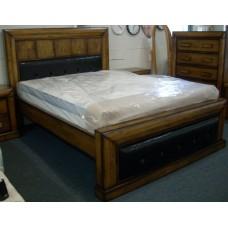 Brooklyn Queen Bed-Antique Meroni