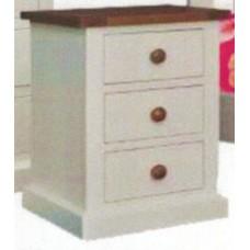 Chester 3 Drawer Bedside