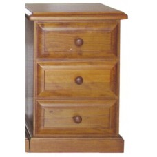 Promo 3 Drawer Bedside