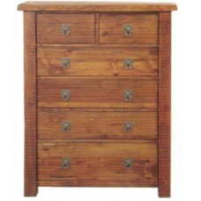 Kimberley 6 Drawer Tallboy