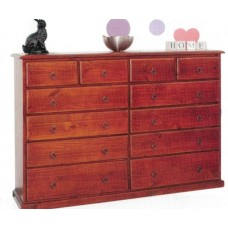 Somerton 12 Drawer Tallboy