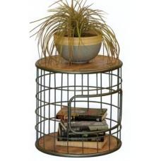 Butler Lamp Table - Mango Wood