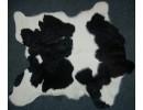 Bezerro Black & White Calfskin rug