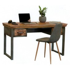 Industrie 2 Drawer Desk