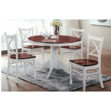 Cross Back 5 Piece Dining Suite