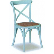 Crossback Chair - Blue