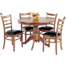 Coco Mustang 5 Piece Dining Suite
