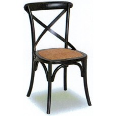 Crossback Chair - Antique Black