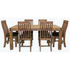 Sanava 7 Piece Dining Suite