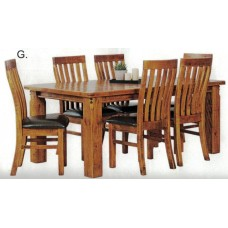 Woolshed 9 Piece Dining Suite