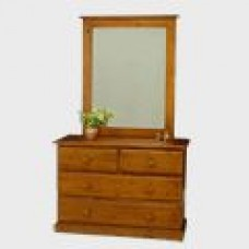 Flinders Dressing Table with Mirror
