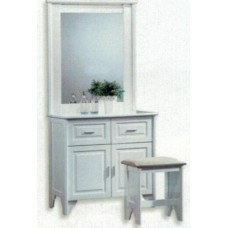 Jeanie Dressing Table & Mirror
