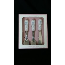 Baby Elephant Pink Cutlery Set