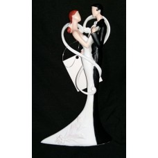 Married Couple Statue