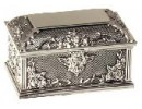 Cupid lock jewel box