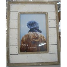 Beach House Photo Frame - White