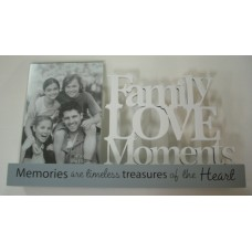 Family Love Moments Photo Frame
