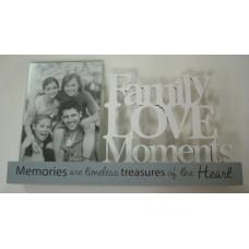 Family Love Moments Photo Frame