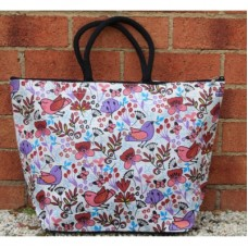 My Garden Jute Tote Bag