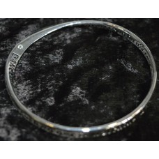 Silver bangle -  Equilibrium