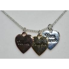 Mum & Daughter Necklace - Multi tone