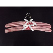 Set of Two Provence Coathangers - Red