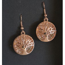 Tree Of Life - Rose Gold Tone