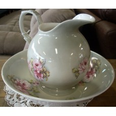 Rose Harmony Jug & Basin Set