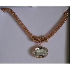 Mesh Pendant Necklace - Equilibrium