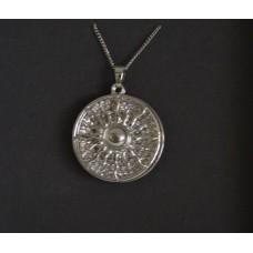 Sun Necklace - Silver - Inspire