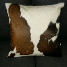 Cow Hide Cushion Cover- TriColoured