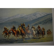 snowy River Riders By Robert Lovett