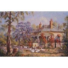 Evening Chores by Bill Ambagtsheer - Limited Edition Print