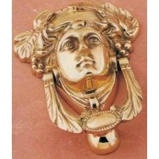Medusa Door Knocker - Brass