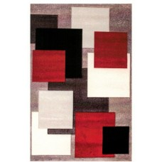 Belmont Box Rug - Red