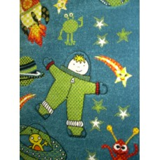 Children's space Astronaut Rug