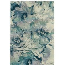 Evoke Rug - Grey & Blue