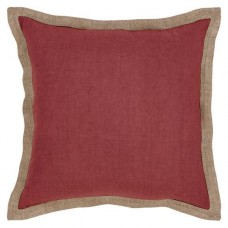 Hampton Cushion - Red