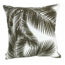 Havana Cushion - Green/White