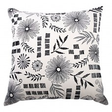 Juliet Cushion - Black/White