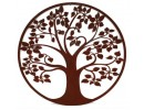 Rust tree of life circle