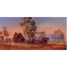 Crossing The Plains by d'Arcy W. Doyle - Limited Edition Print