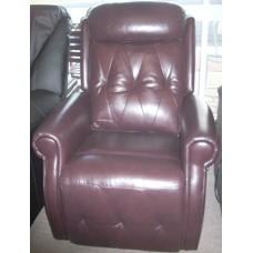 Burgundy Dual Motor Lift Chair