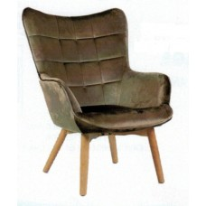 Florence Accent Chair - Gold Copper