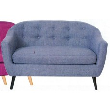 Luna 2 Seater Chair - Blue