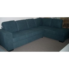 Caitlyn 6 Seater Modular Lounge with chaise & Sofa Bed